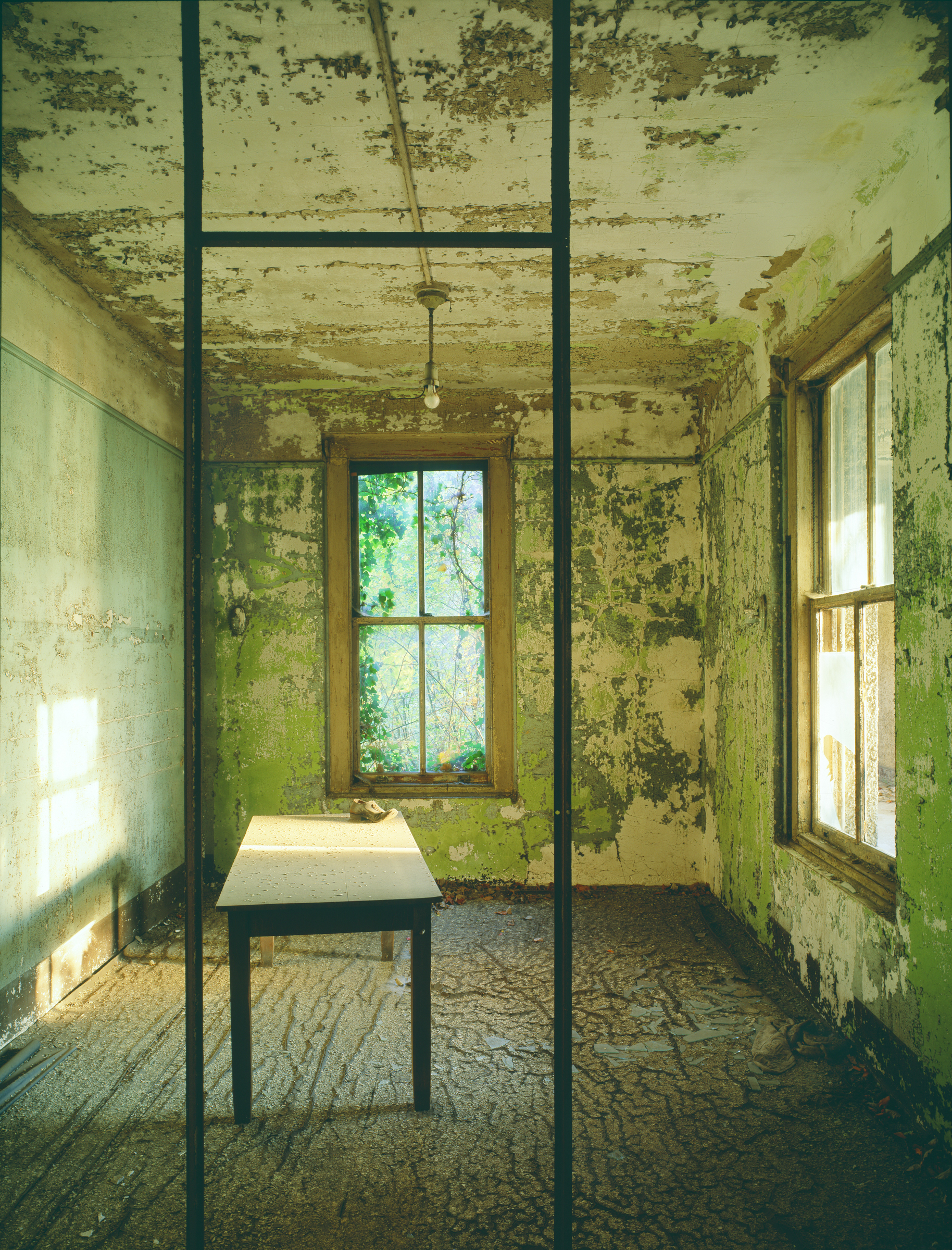 Ellis Island: Administration office, single shoe, Island 3 © Stephen Wilkes