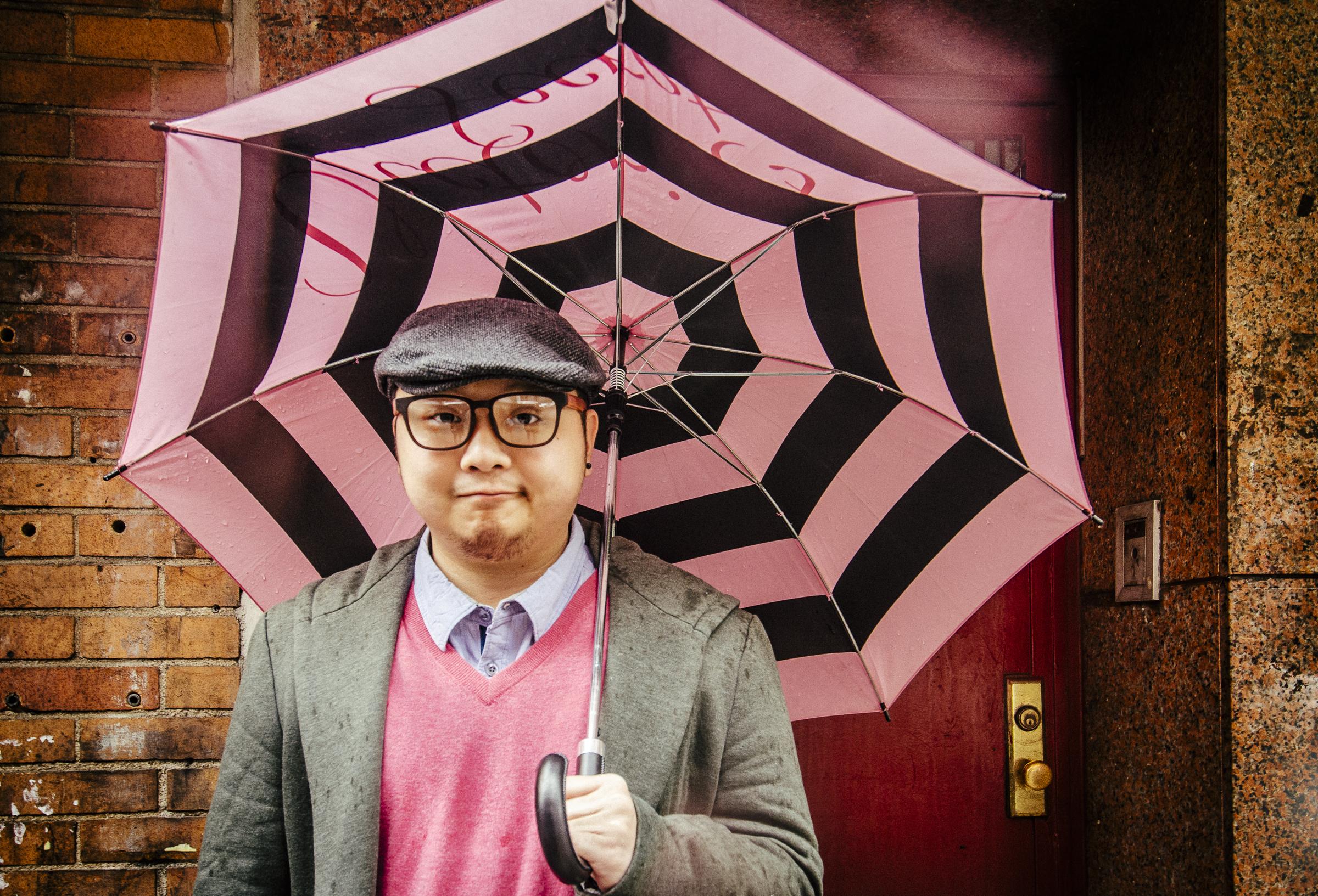 Mr. Kim. Chinatown, NY 2014 © Celine Gil NYC SALT