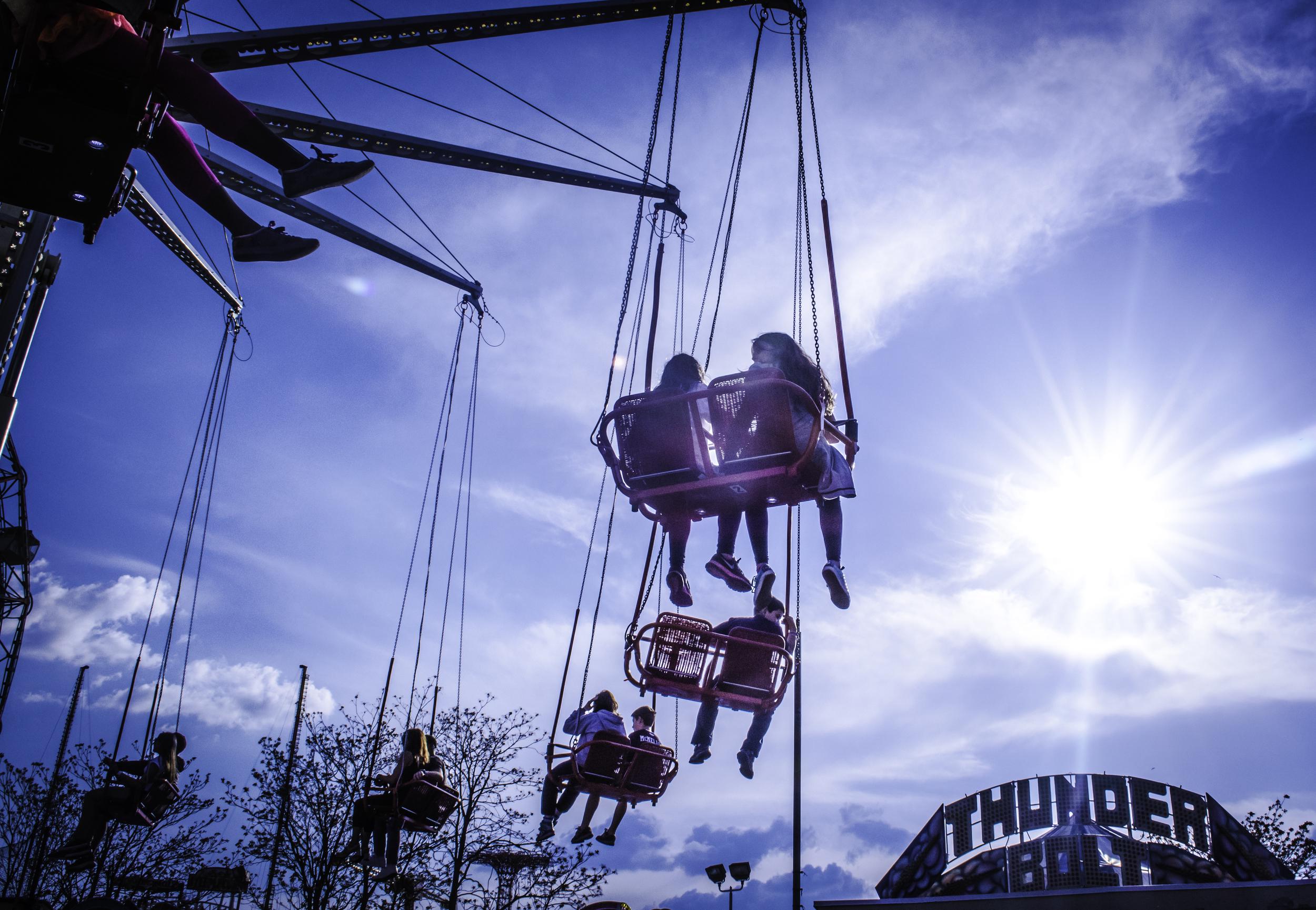 All Riders Go To Heaven. Coney Island 2014 © Melody Dunbar  NYC SALT