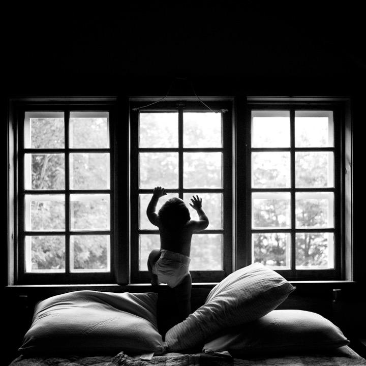 Mateo Seeks the Light. Upstate, NY © Marvi Lacar