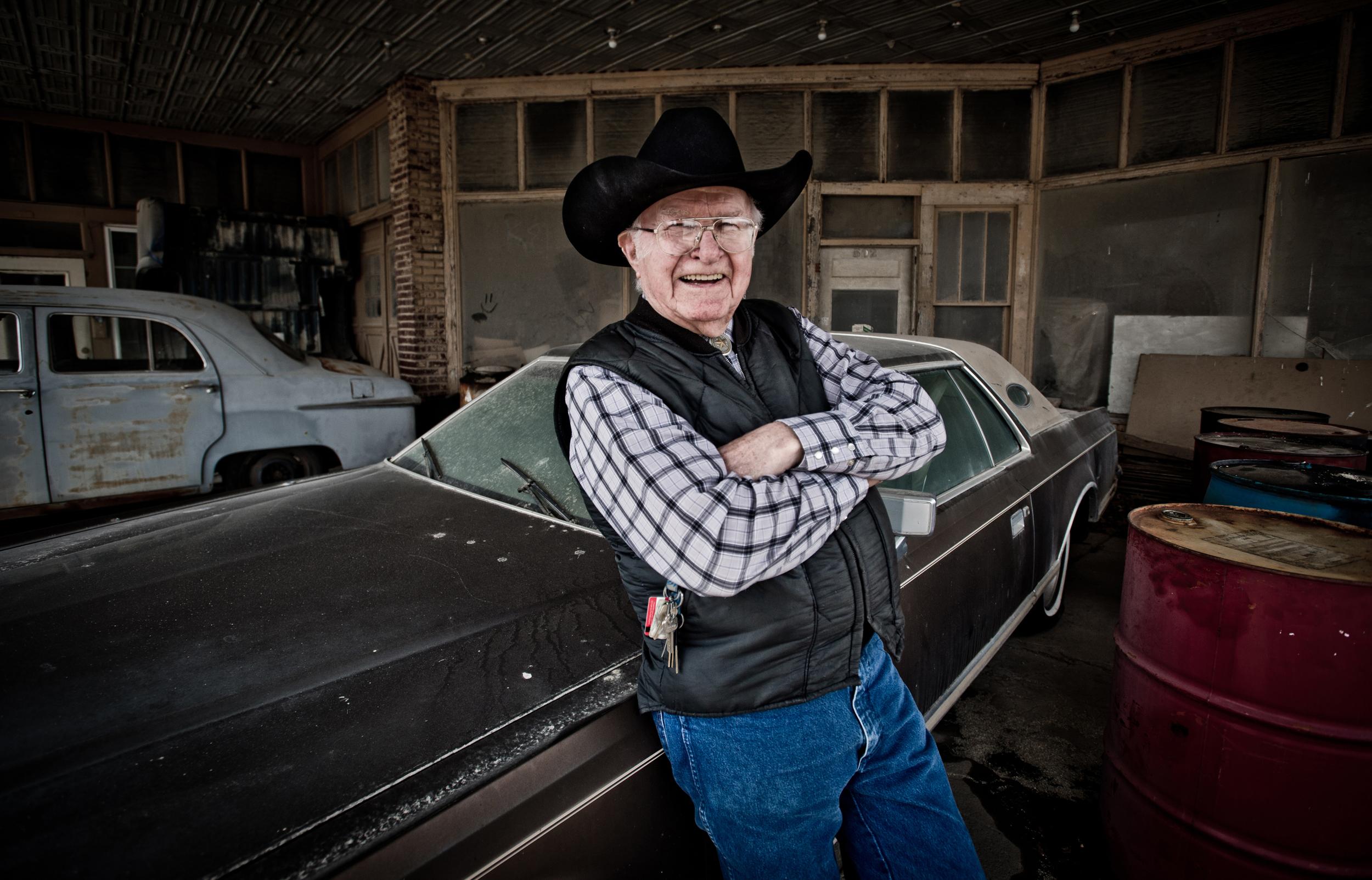 """Honest John"" Dietrich, Kansas© Rob Hammer"