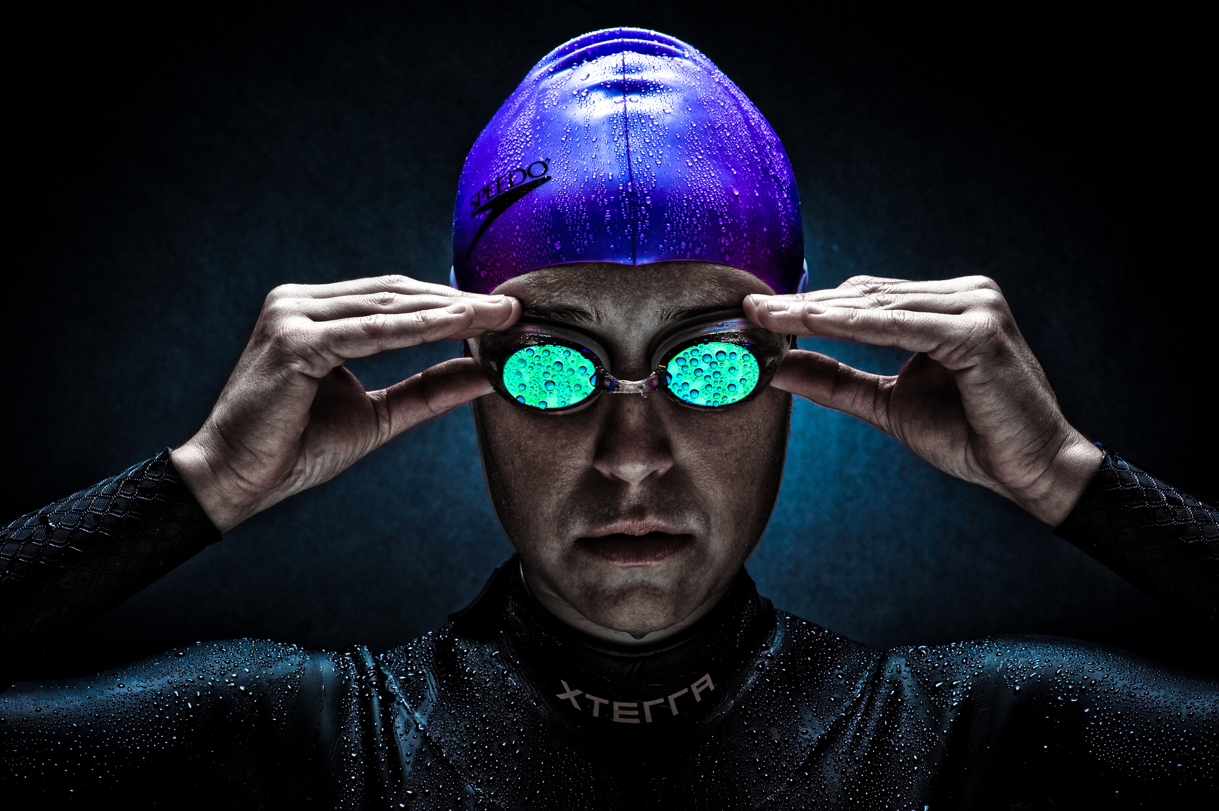 Portrait of a triathlete © Rob Hammer
