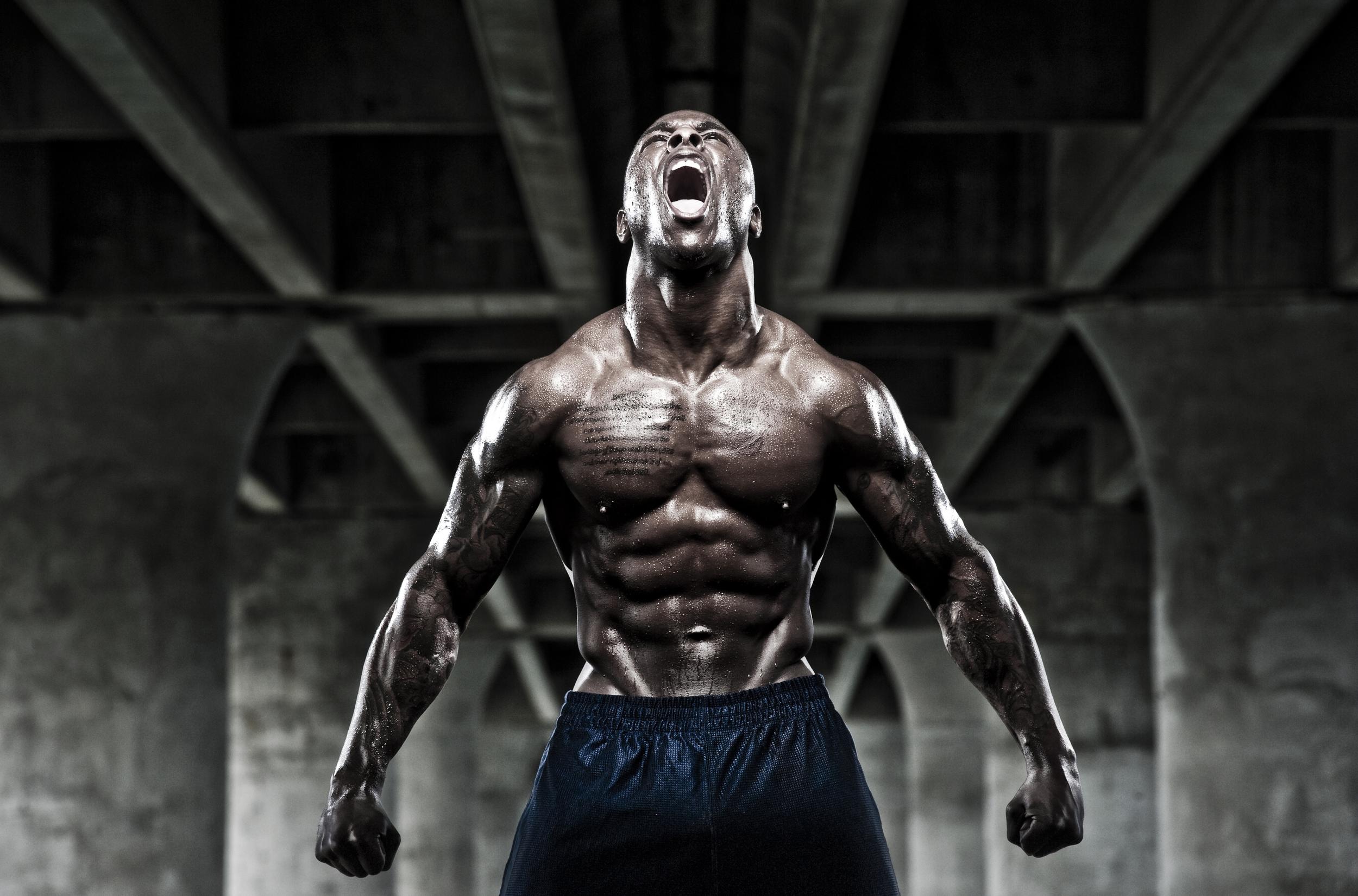 Portrait of a bodybuilder© Rob Hammer