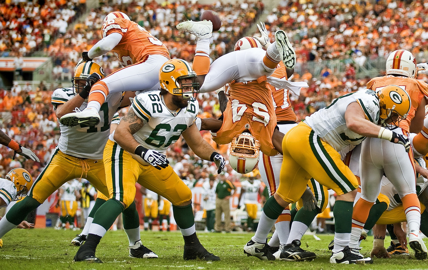Green Bay Packers v Tampa Bay Buccaneers.© Bill Frakes/Sports Illustrated