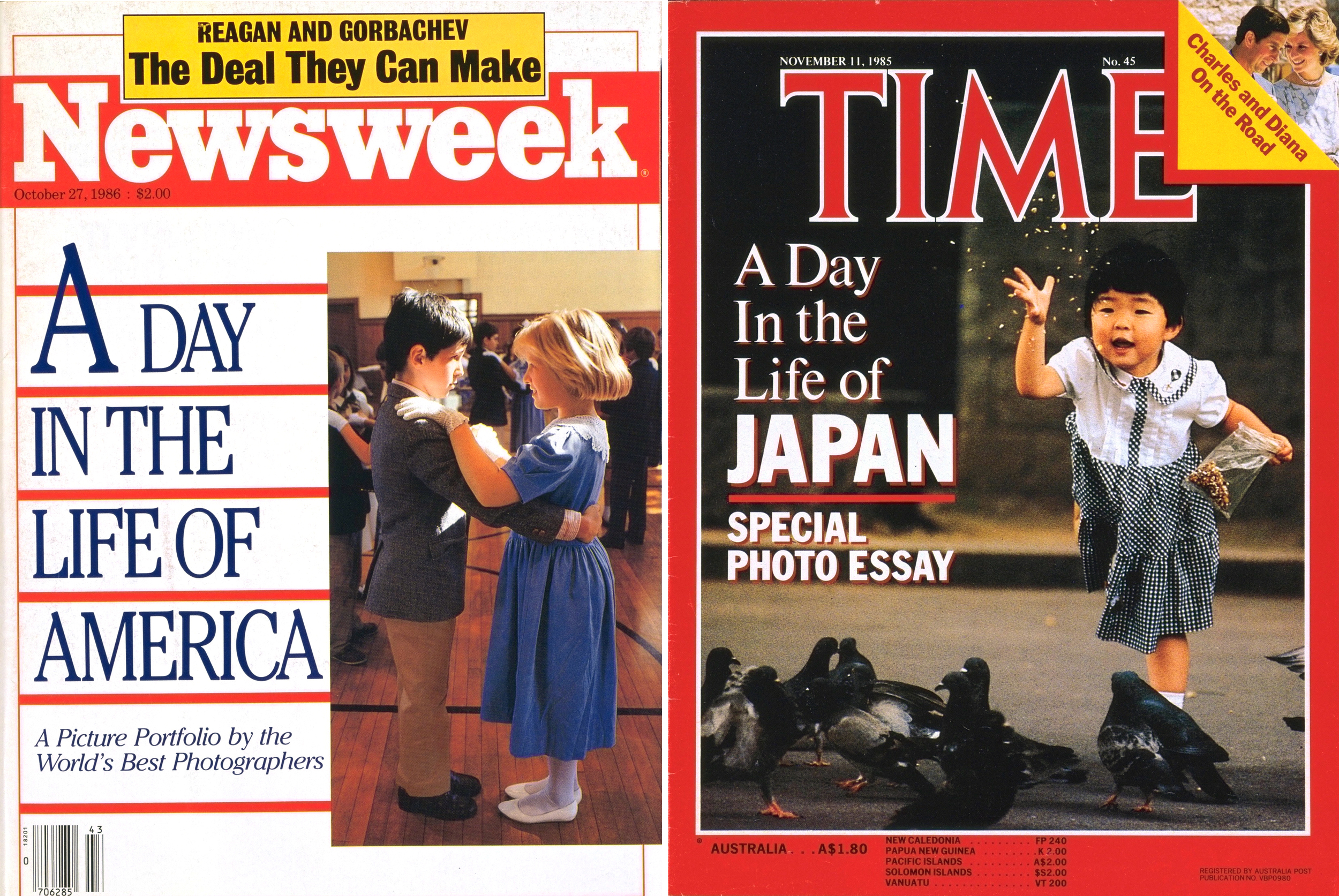 Bidding Wars: TIME & Newsweek often battled for magazine rights for the DITLO books.