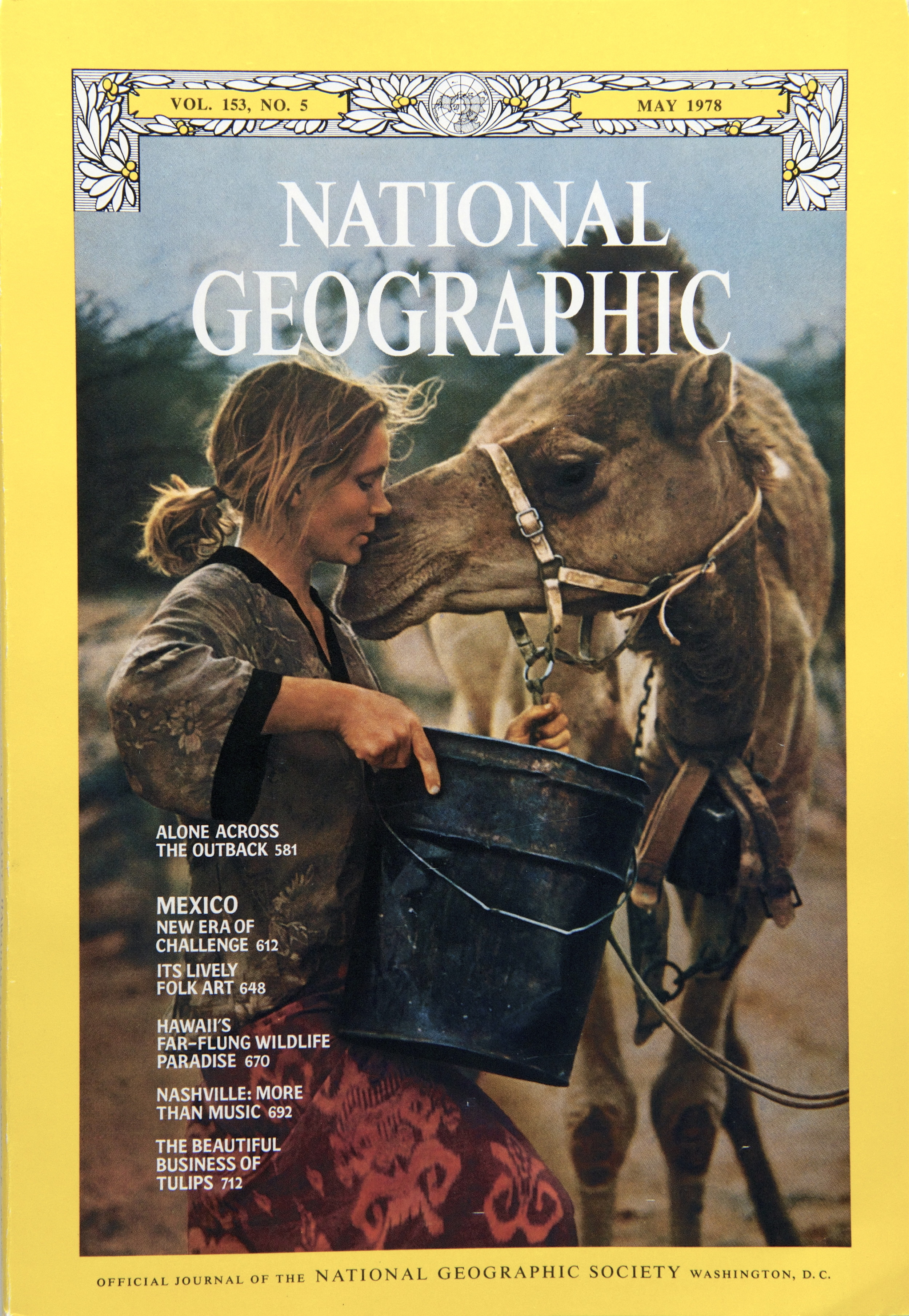 When National Geographic's cover story about Robyn's camel trek was published, it became one of the most popular in the magazine's history. The story was subsequently featured on the covers of more than 100 other magazines in 35 countries reaching an estimated 50 million   readers.    ©  National Geographic.