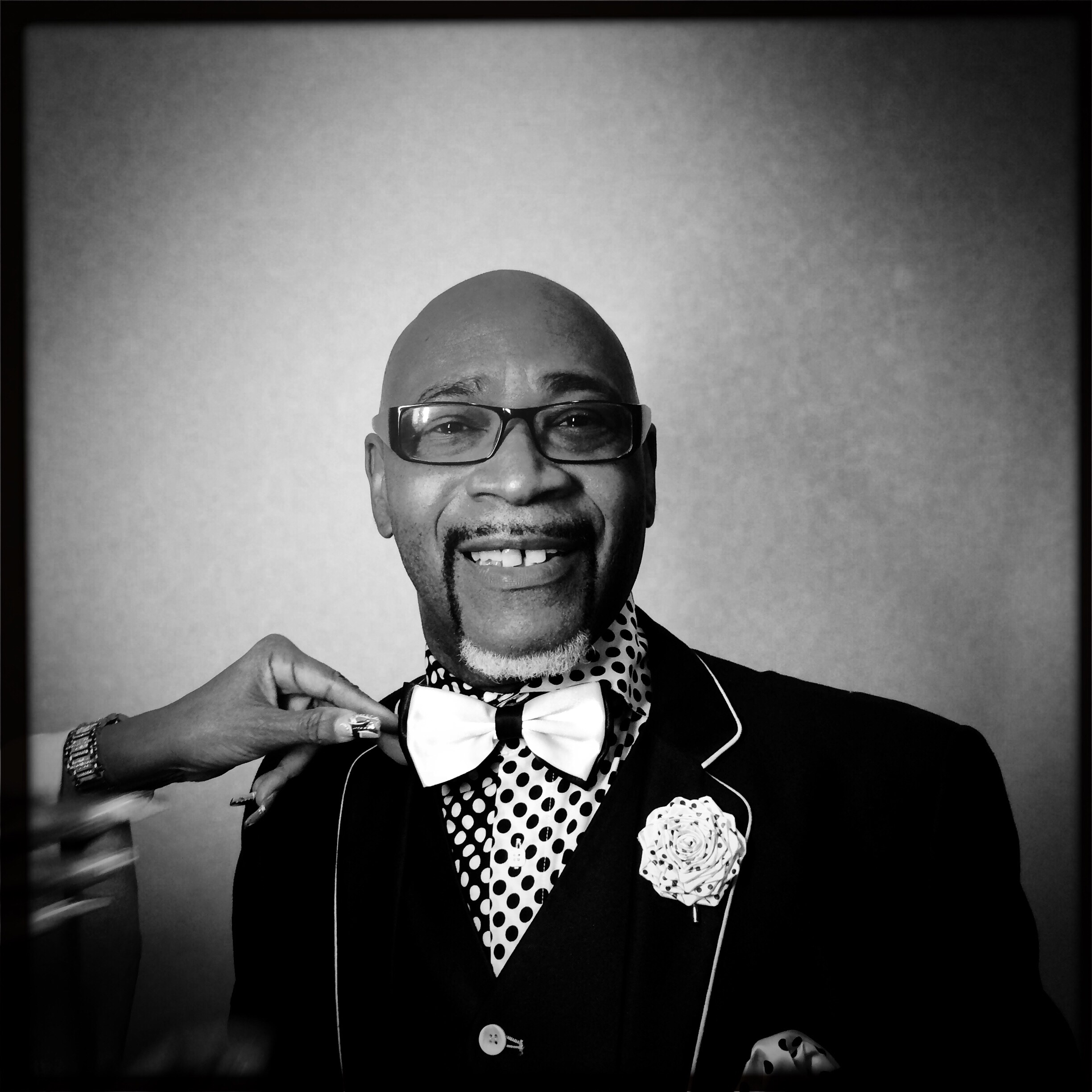 """Dr. E. LaQuint Weaver, founder and director, The Hallelujah Singers, featured in """"Let's Have Some Church Detroit Style,"""" Freep Film Festival. © Nancy Andrews"""