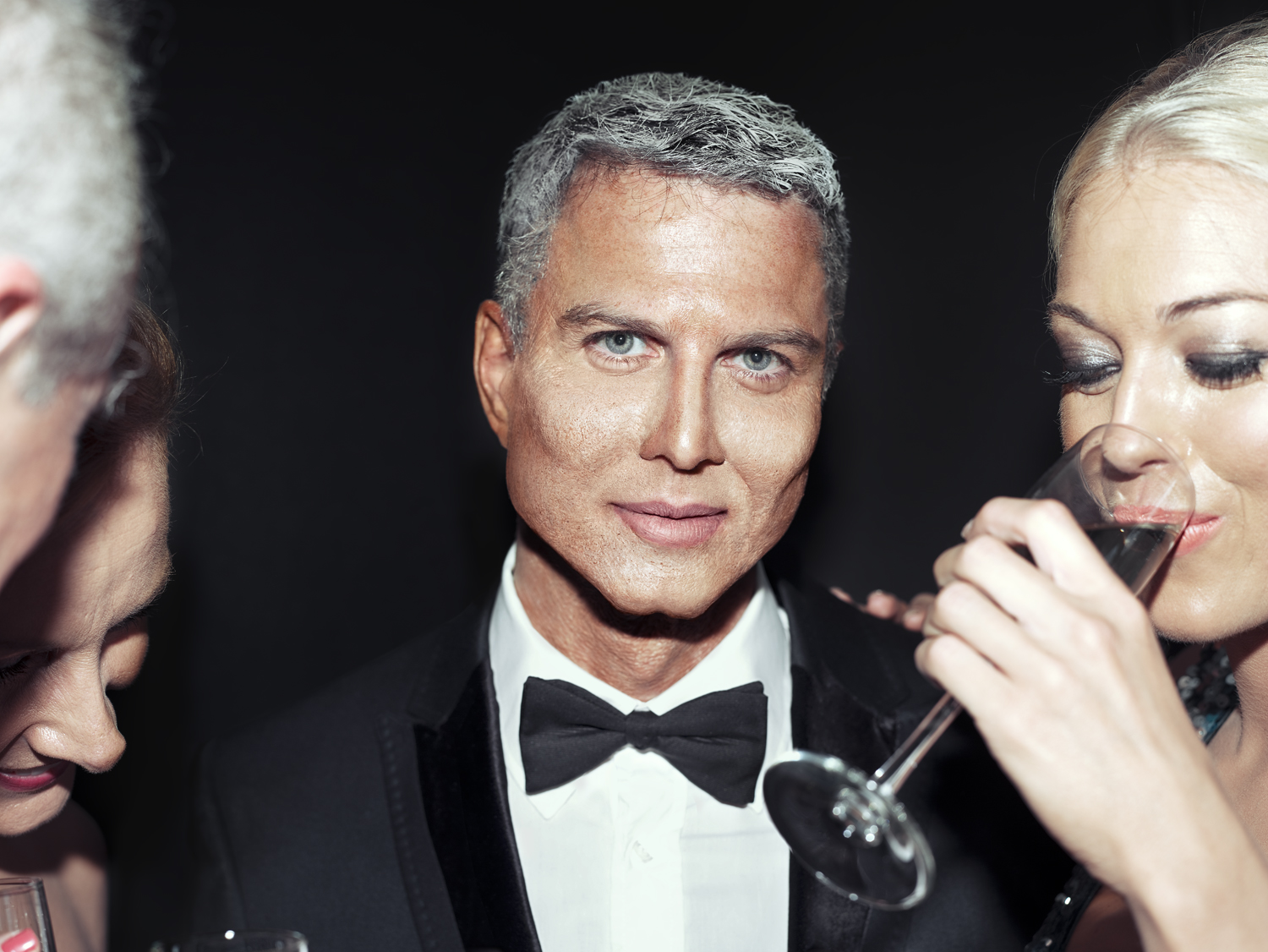 """From """"Maybe"""" which became the documentary   """"The Many Sad Fates of Mr. Toledano."""" Upper East Side Party Phil. © Phillip Toledano"""