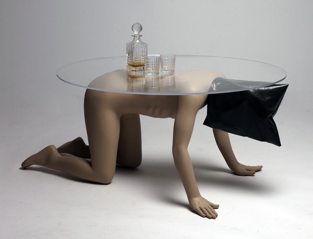 From America the Gift Shop: Abu Ghraib coffee table. 2008 © Phillip Toledano