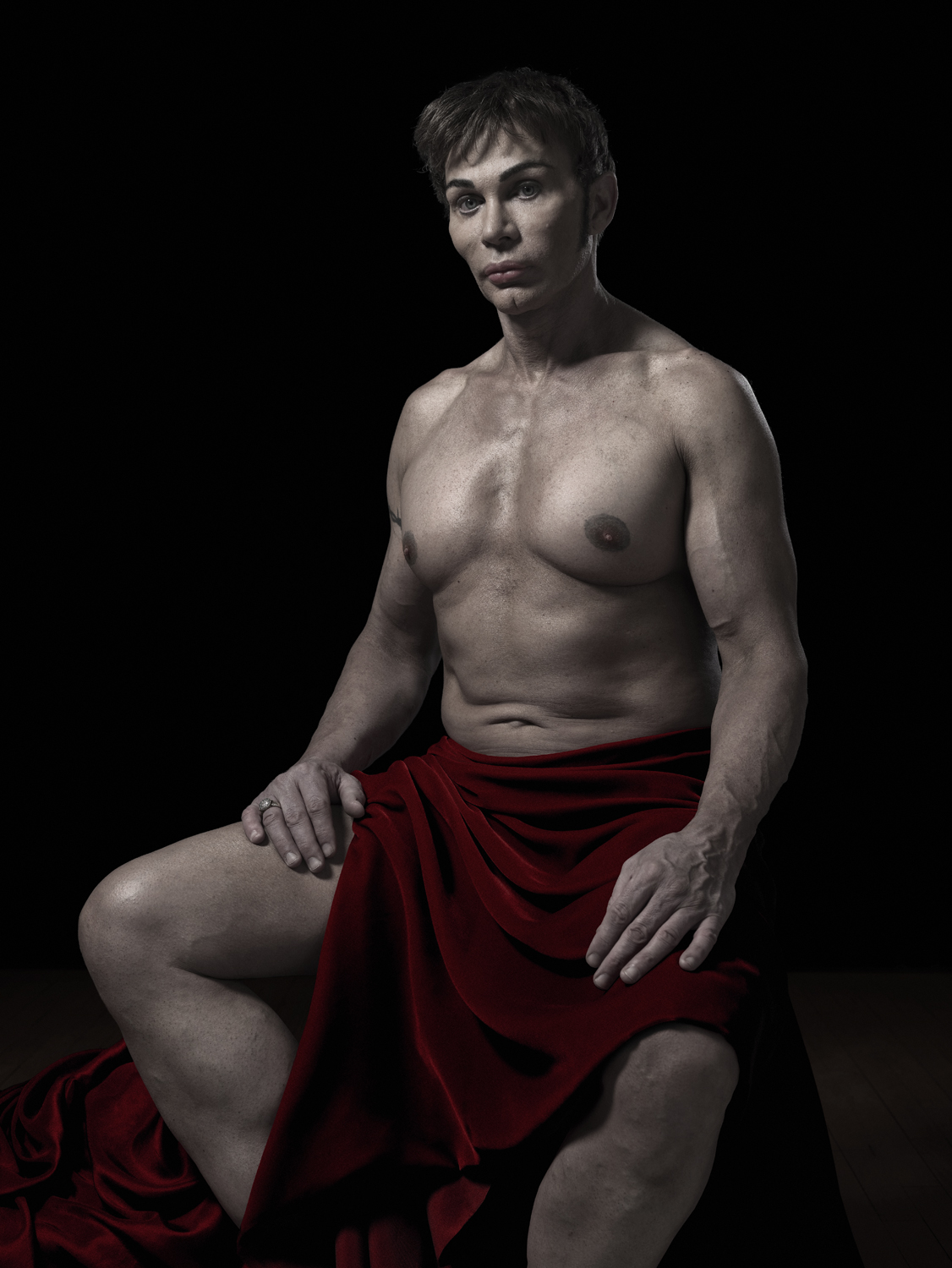 From A New Kind of Beauty: Steve © Phillip Toledano