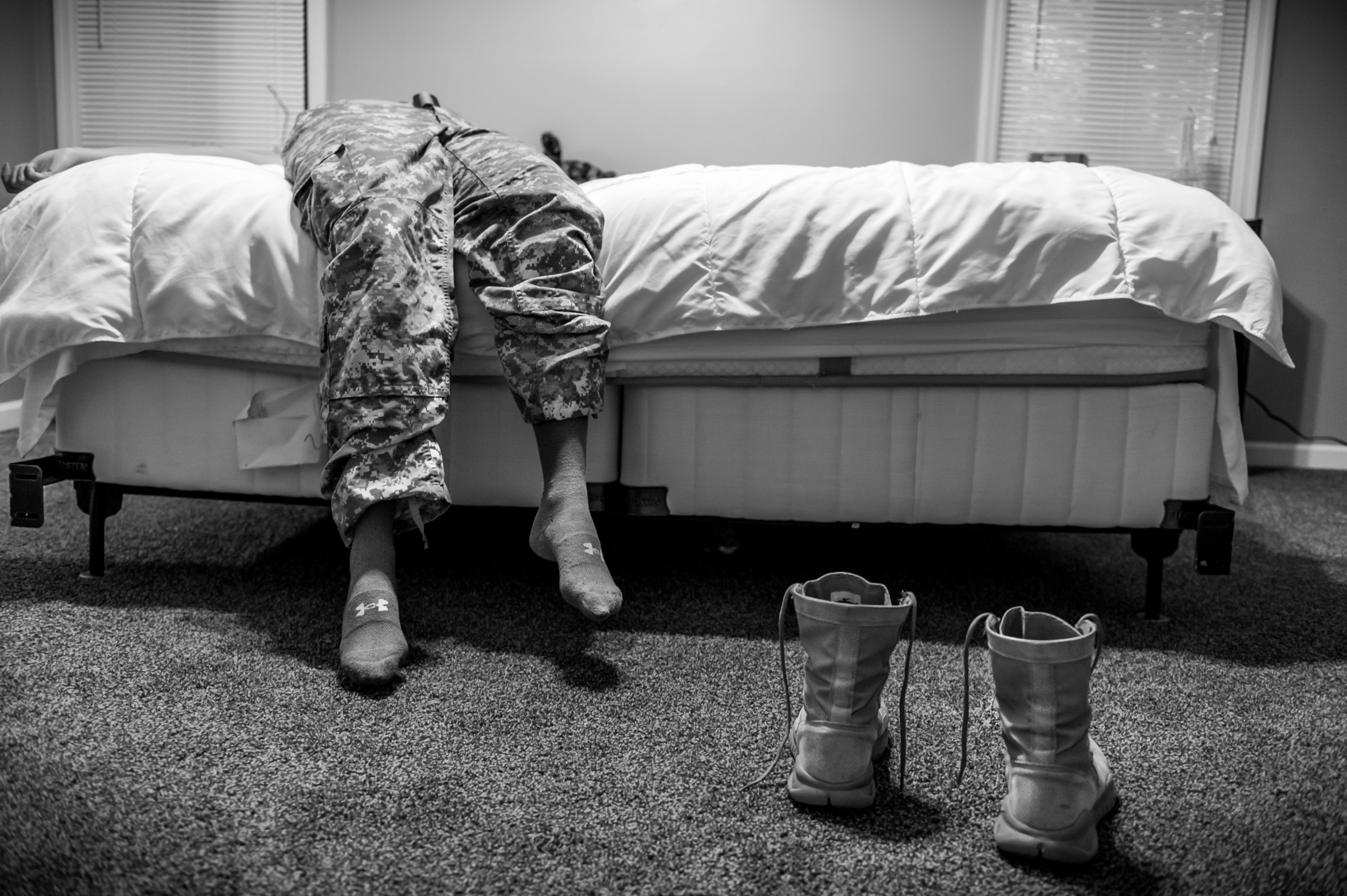 The War Within: US Army Pfc. Natasha Schuette, 21, was sexually assaulted by her drill sergeant during basic training. © Mary F. Calvert  / ZUMAPRESS.com