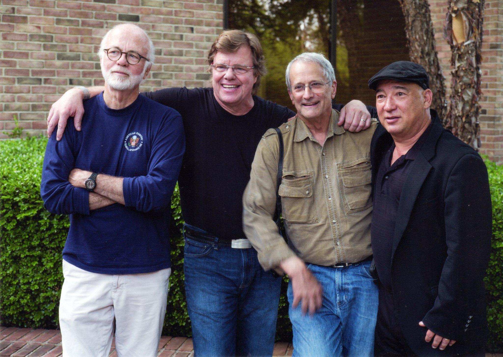 The Four Amigos: Kennerly, McNally, Burnett, Colton. © 2015 Roger Hart