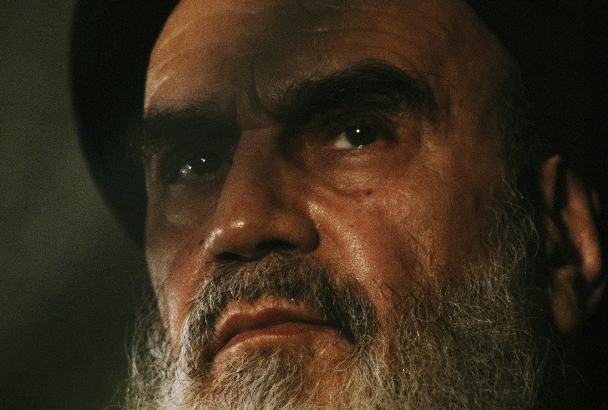 The Ayatollah Khomeini, Tehran, 1979. © 2015 David Burnett/Contact Press Images