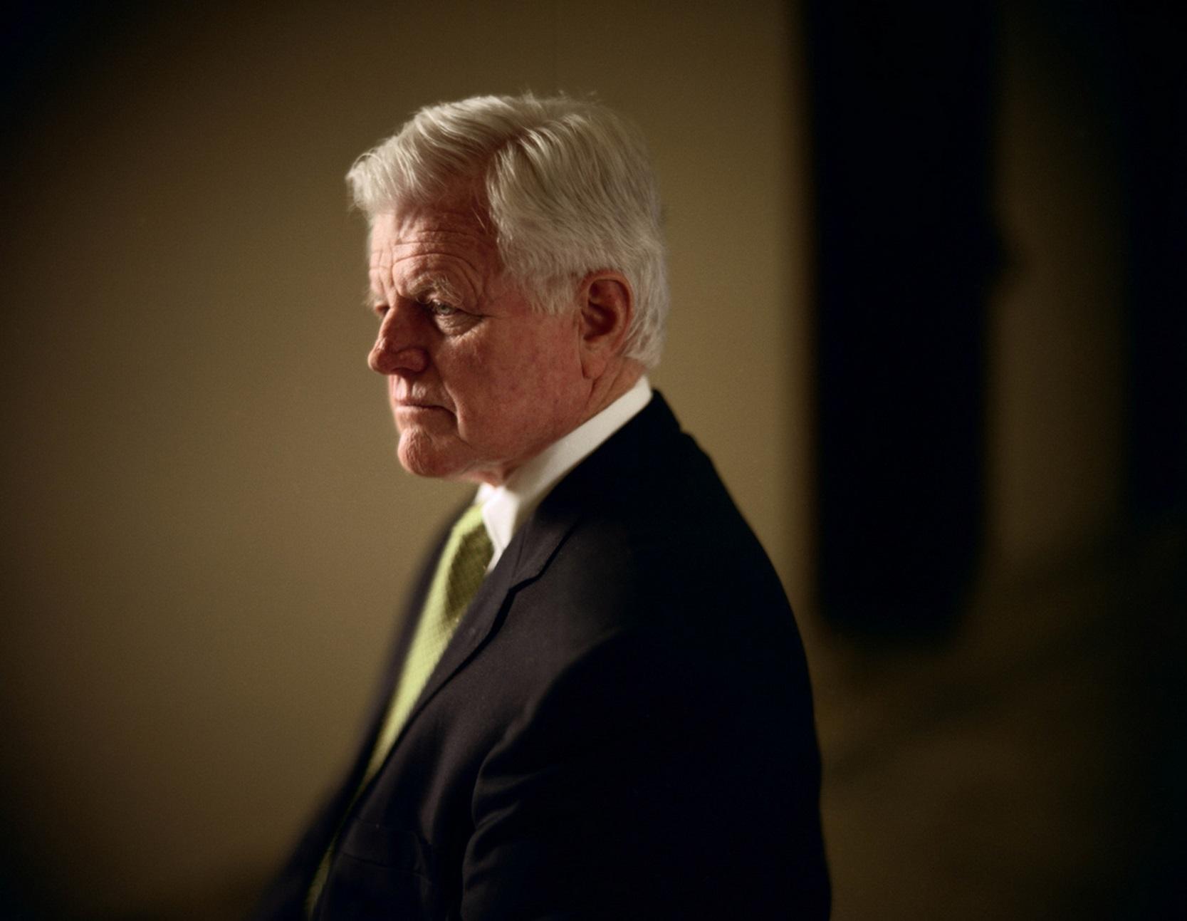 Senator Ted Kennedy in Washington DC, 2006. © 2015 David Burnett/Contact Press Images