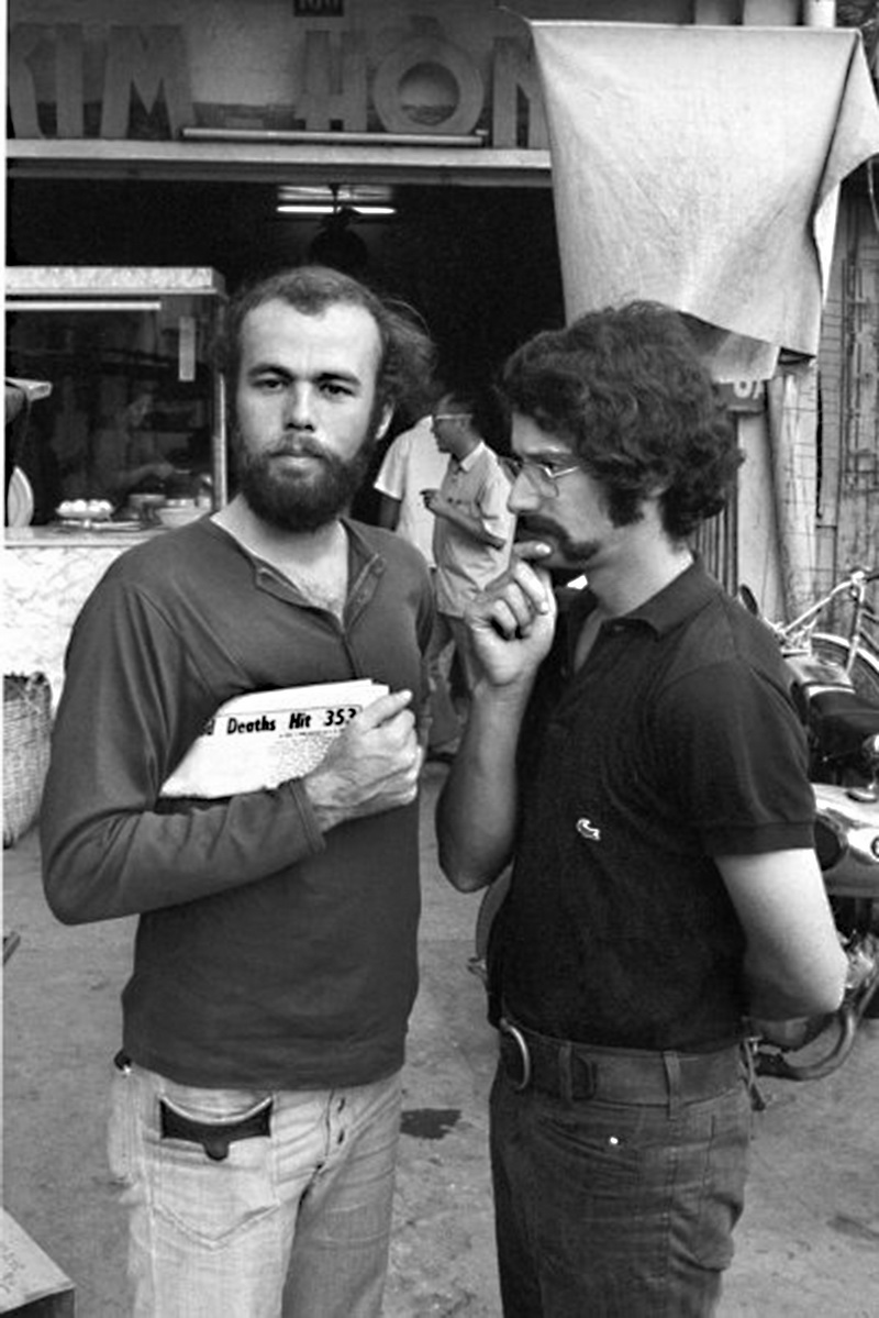 The Two Davids: Kennerly and Burnett in Saigon, 1972. © Nguyen Ngoc Anh