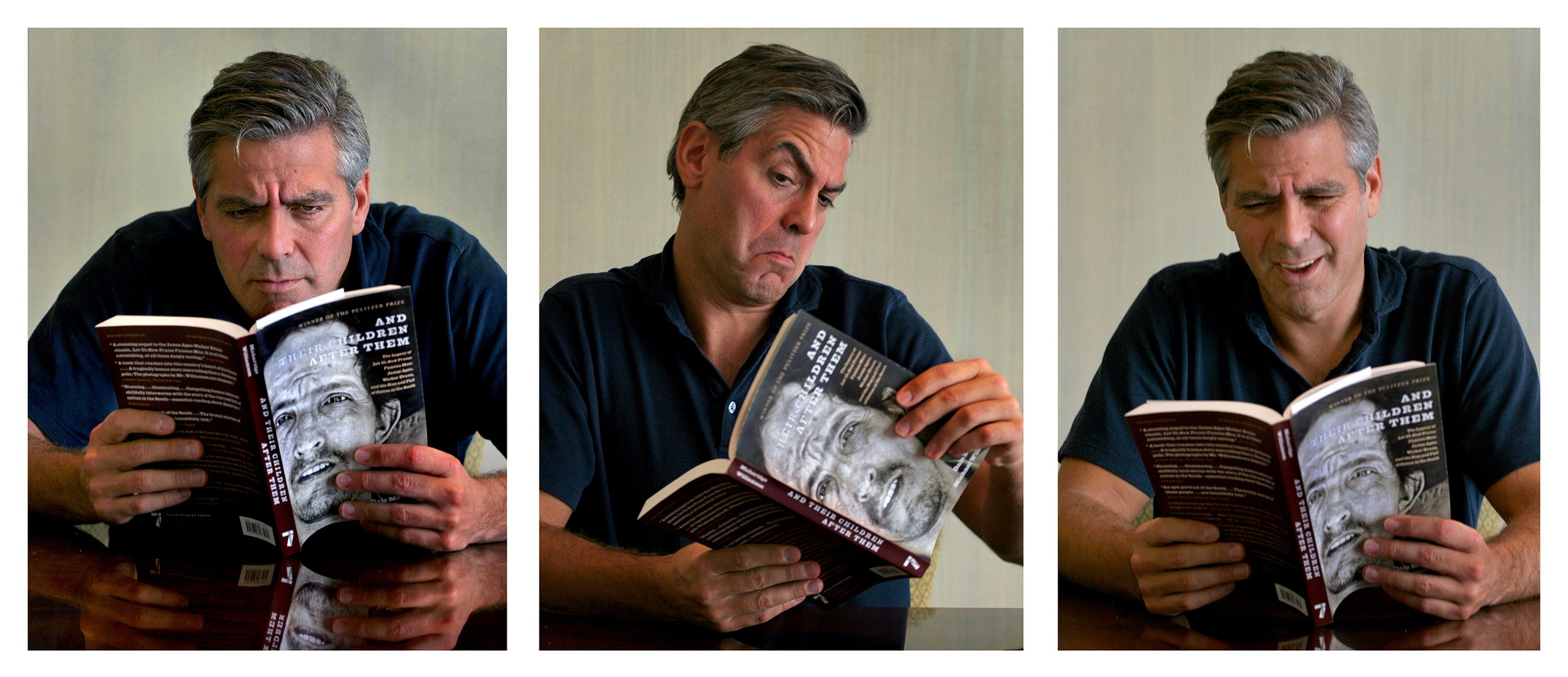 """""""And Their Children After Them."""" George Clooney likes it!©   2015   Michael S. Williamson"""