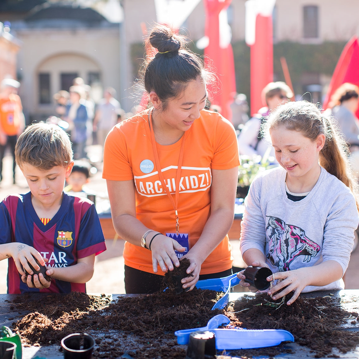 JUNGLEFY OUR CITY   @ PLAY[ground]  Green Wall Workshops   by Junglefy Hyde Park Barracks Museum