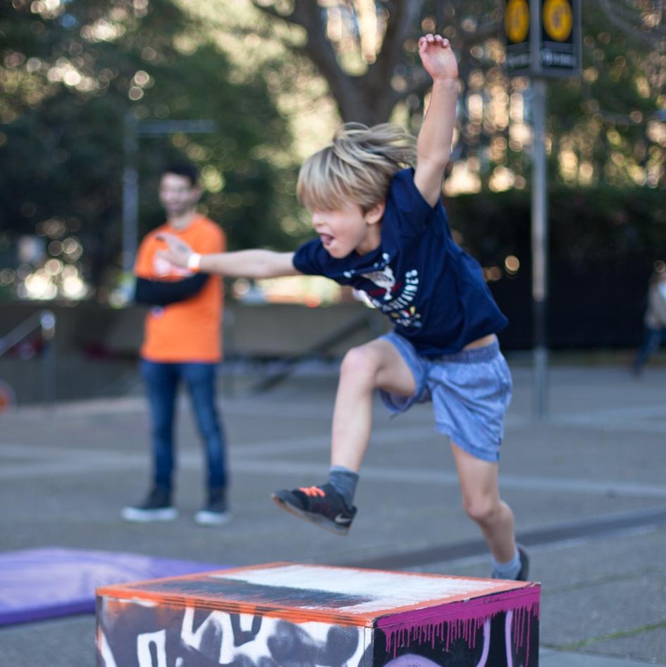 PARKOUR @ PLAY[ground]  Parkour Workshops   by Jumpsquad Hyde Park Barracks Museum