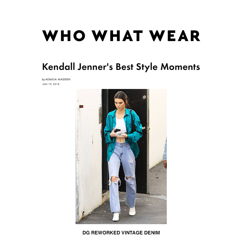 WHO WHAT WEAR // JUNE 2018