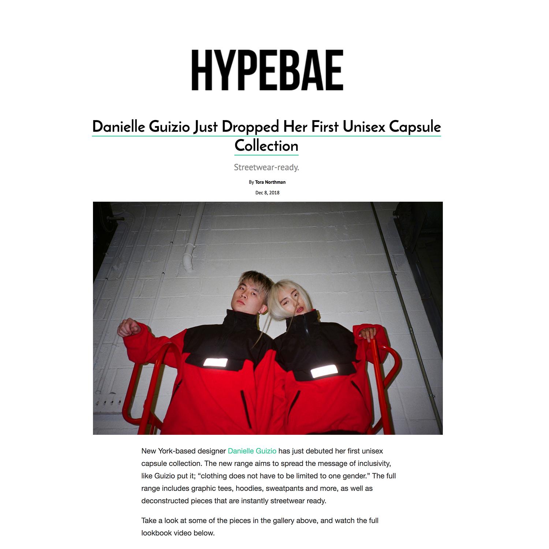 HYPEBAE // DECEMBER 2018