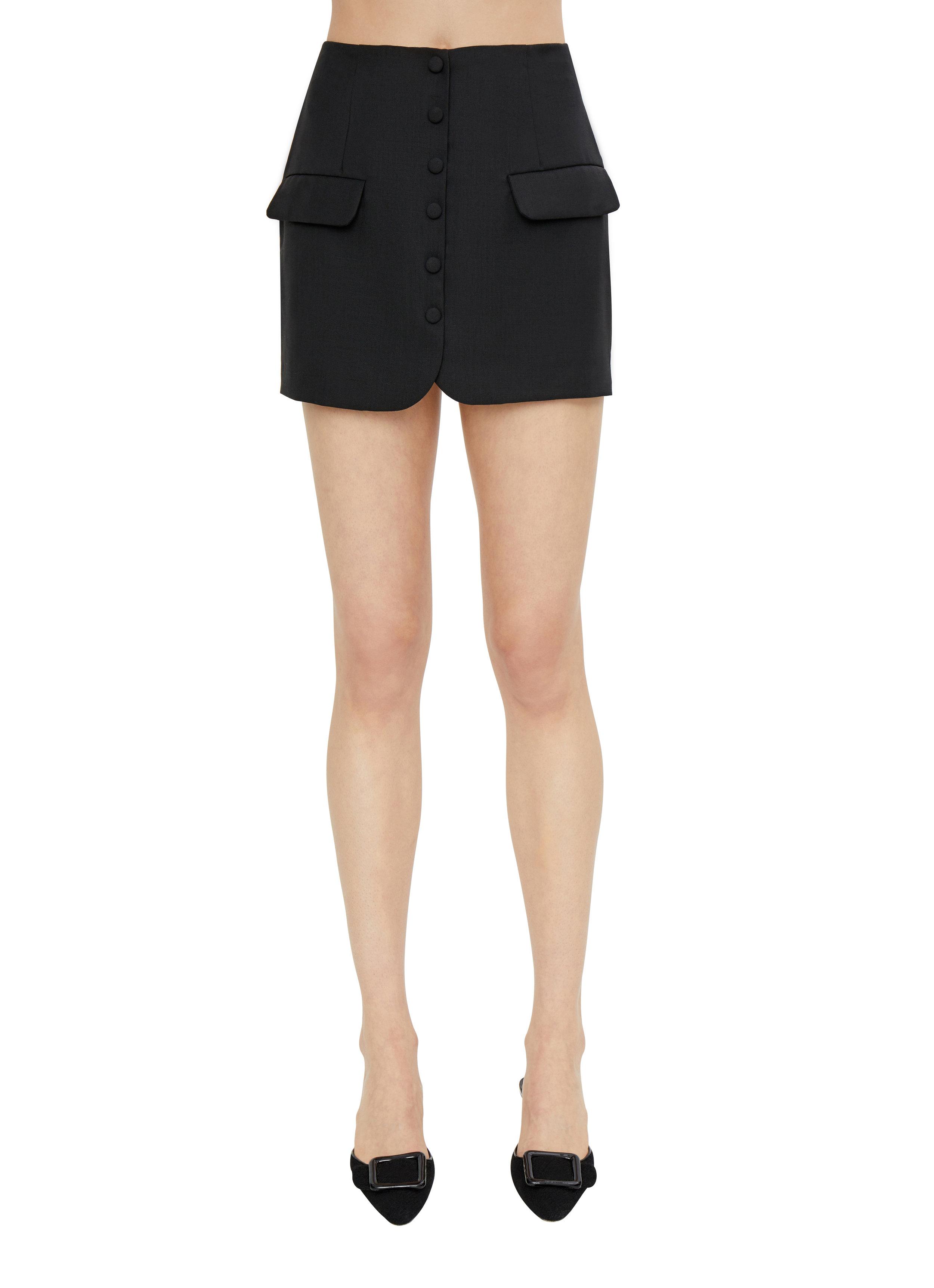 Button Pocket Skirt Danielle Guizio