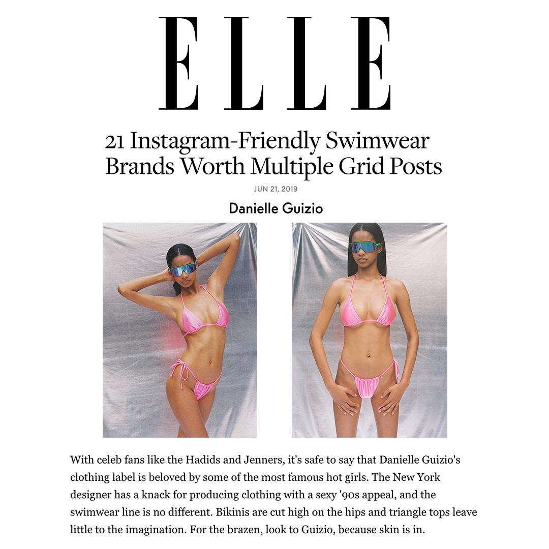 ELLE ONLINE // JUNE 2019