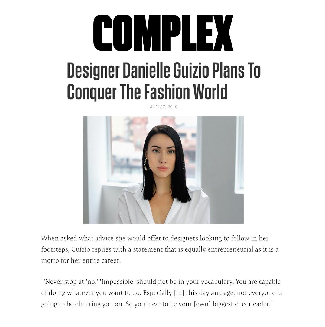 COMPLEX // JUNE 2019