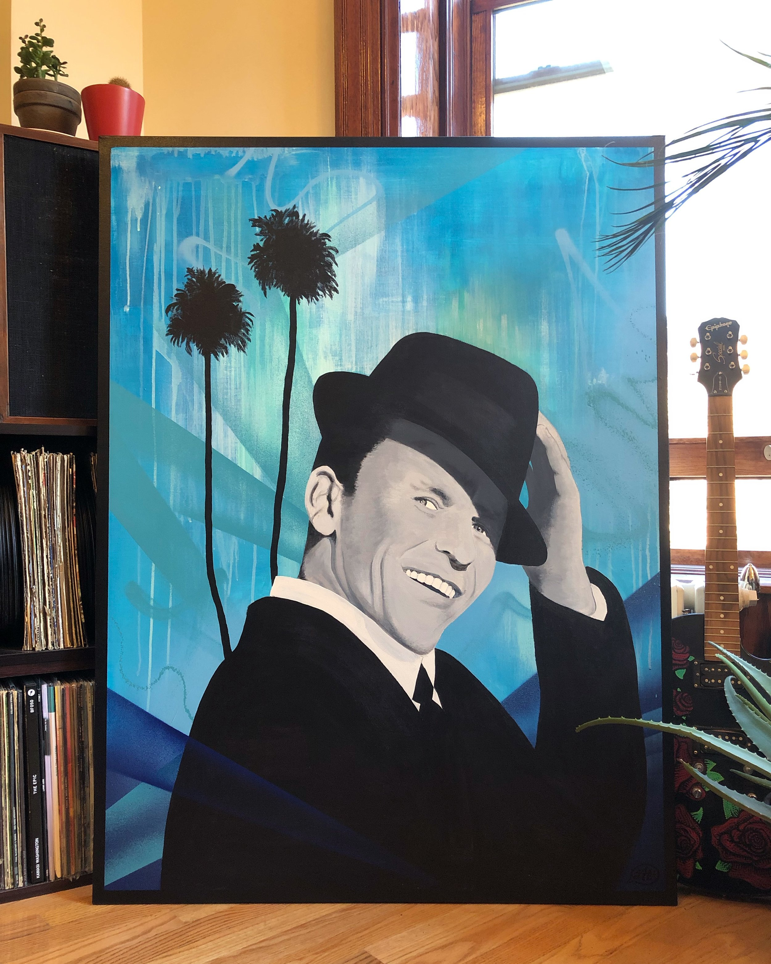 Frank Sinatra Portrait (Commission)