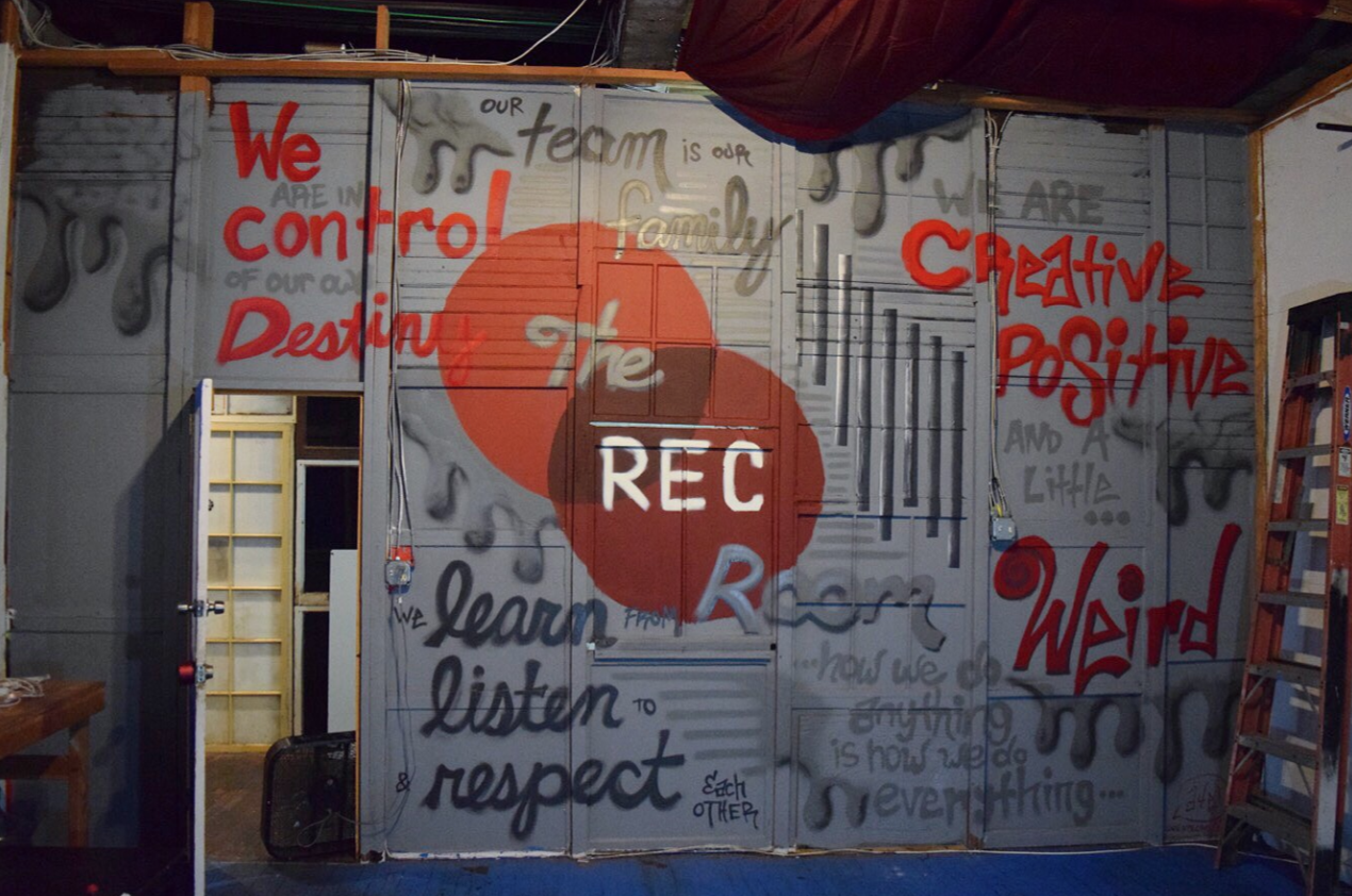 The Rec Room Mural (Commission)