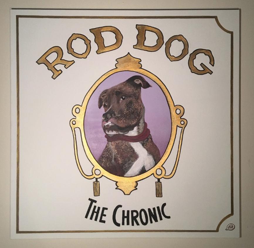 Rod Dog Portrait (Commission)