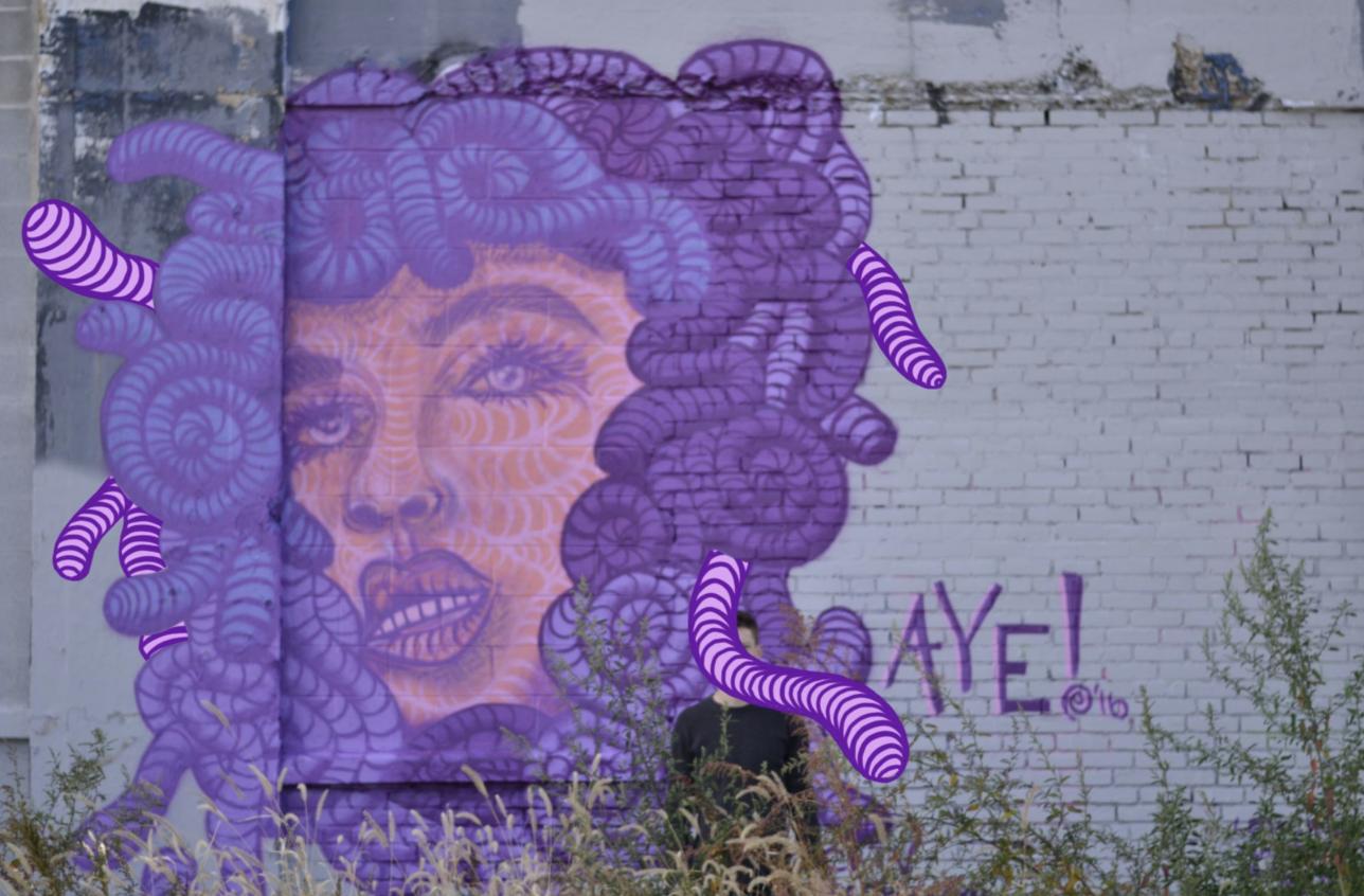 Aye Medusa Mural