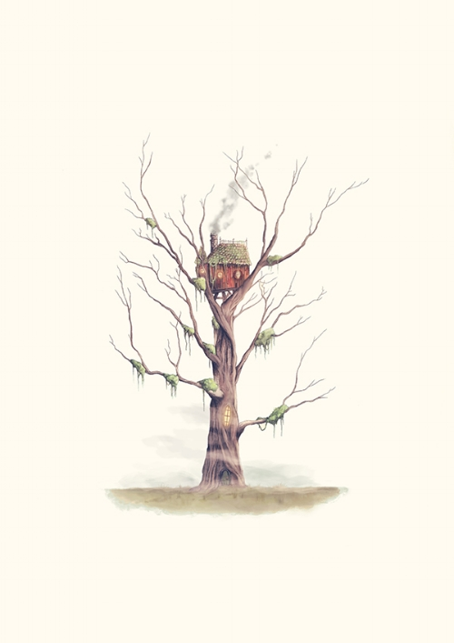 The Swamp Witch's Treehouse
