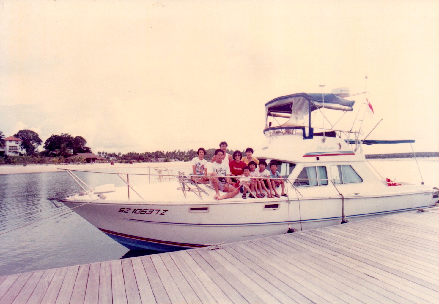 Our family and relatives on SZ10637Z. 1994.