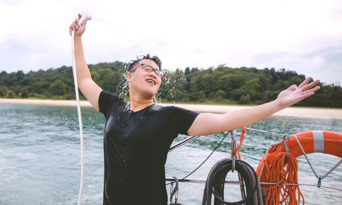 ximula sail yacht charter singapore party