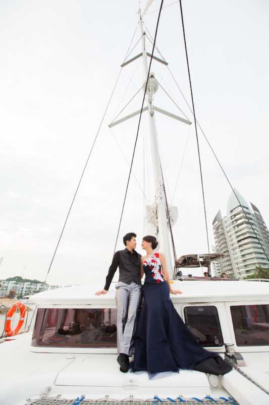 yacht Photoshoot Singapore