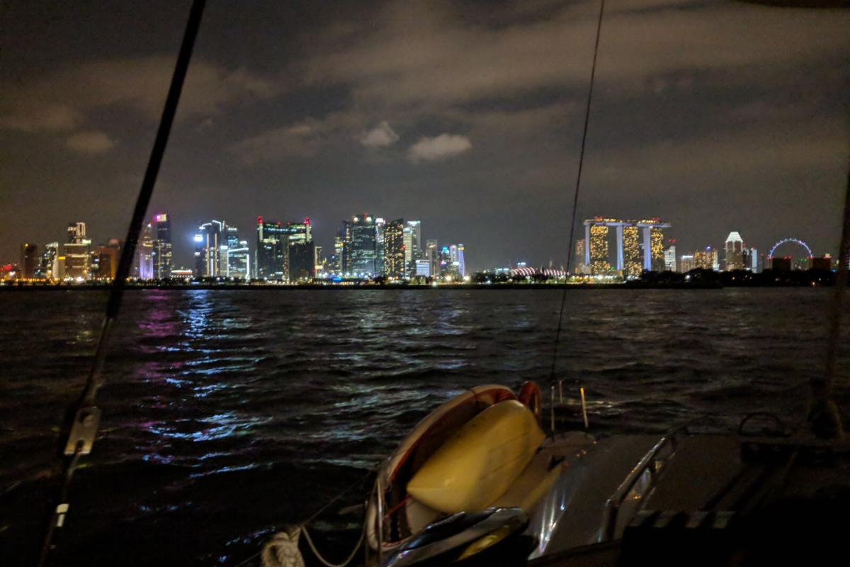 ximula sail sunset cruise singapore