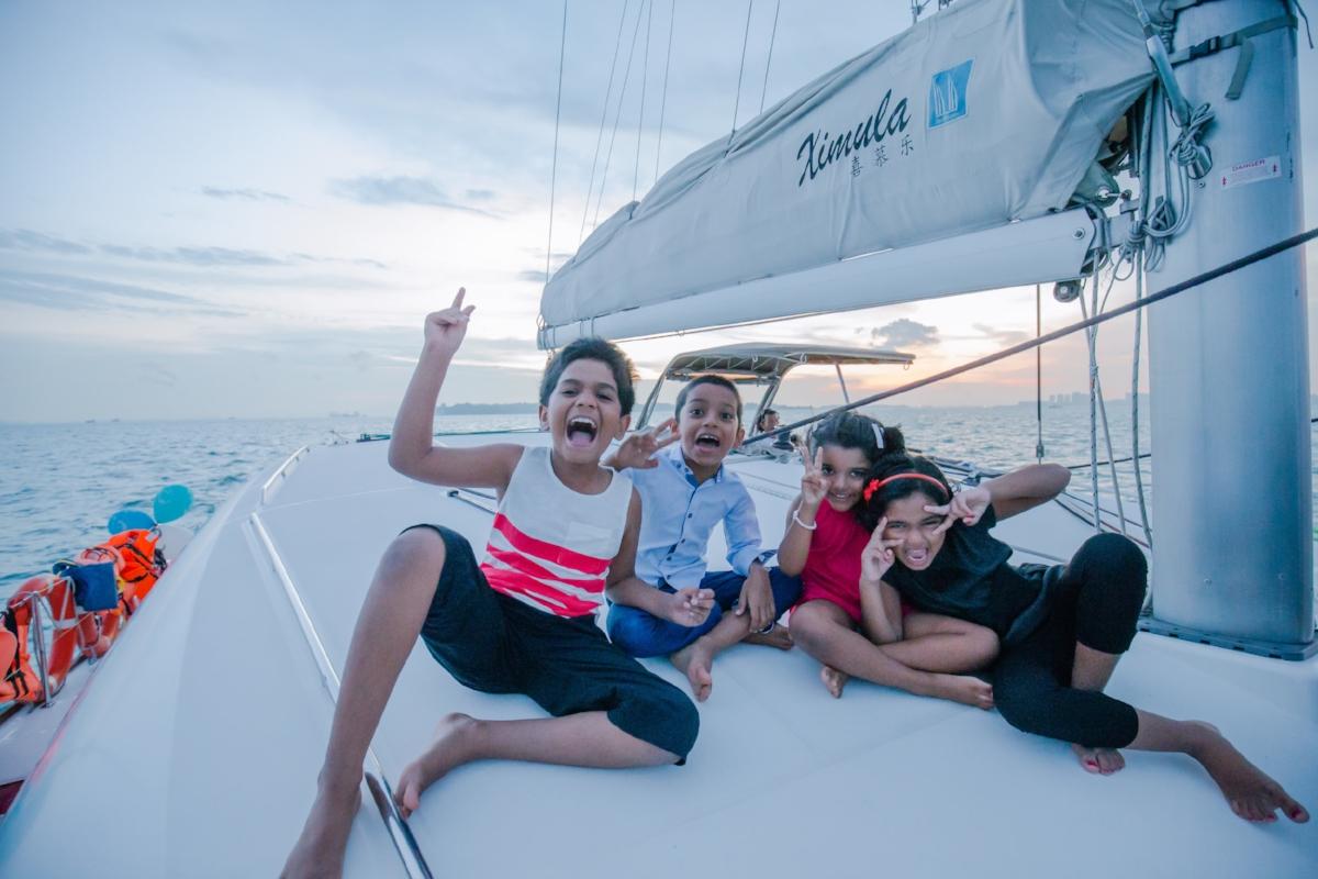 ximula sail yacht charter singapore