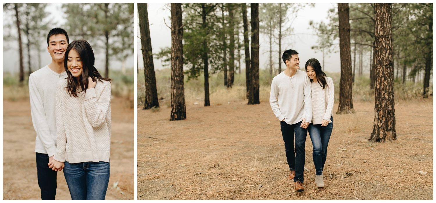 Los Angeles Forest Warm and Artistic Engagement Session-1530.jpg