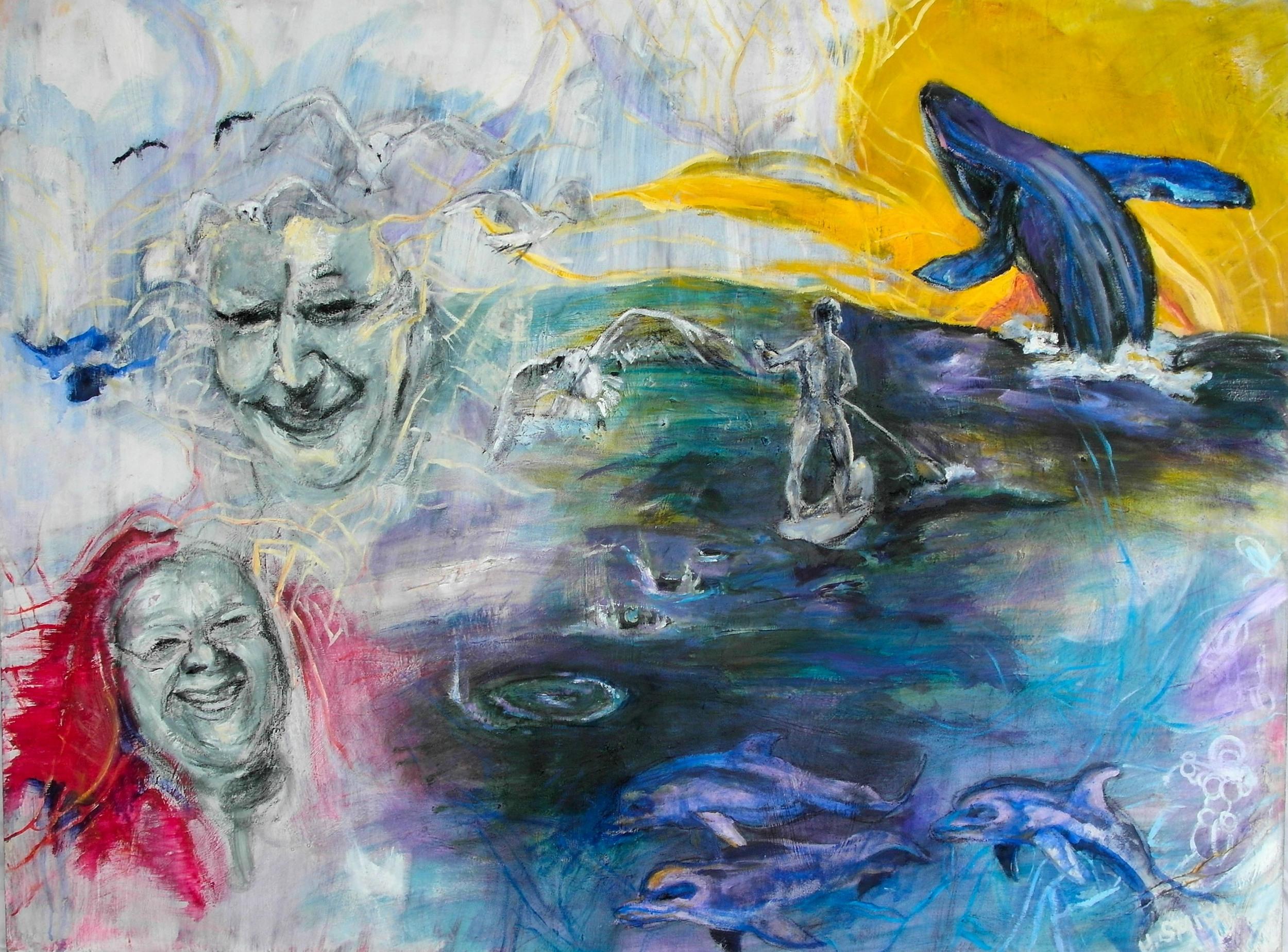 Christian  36x 48 oil on canvas