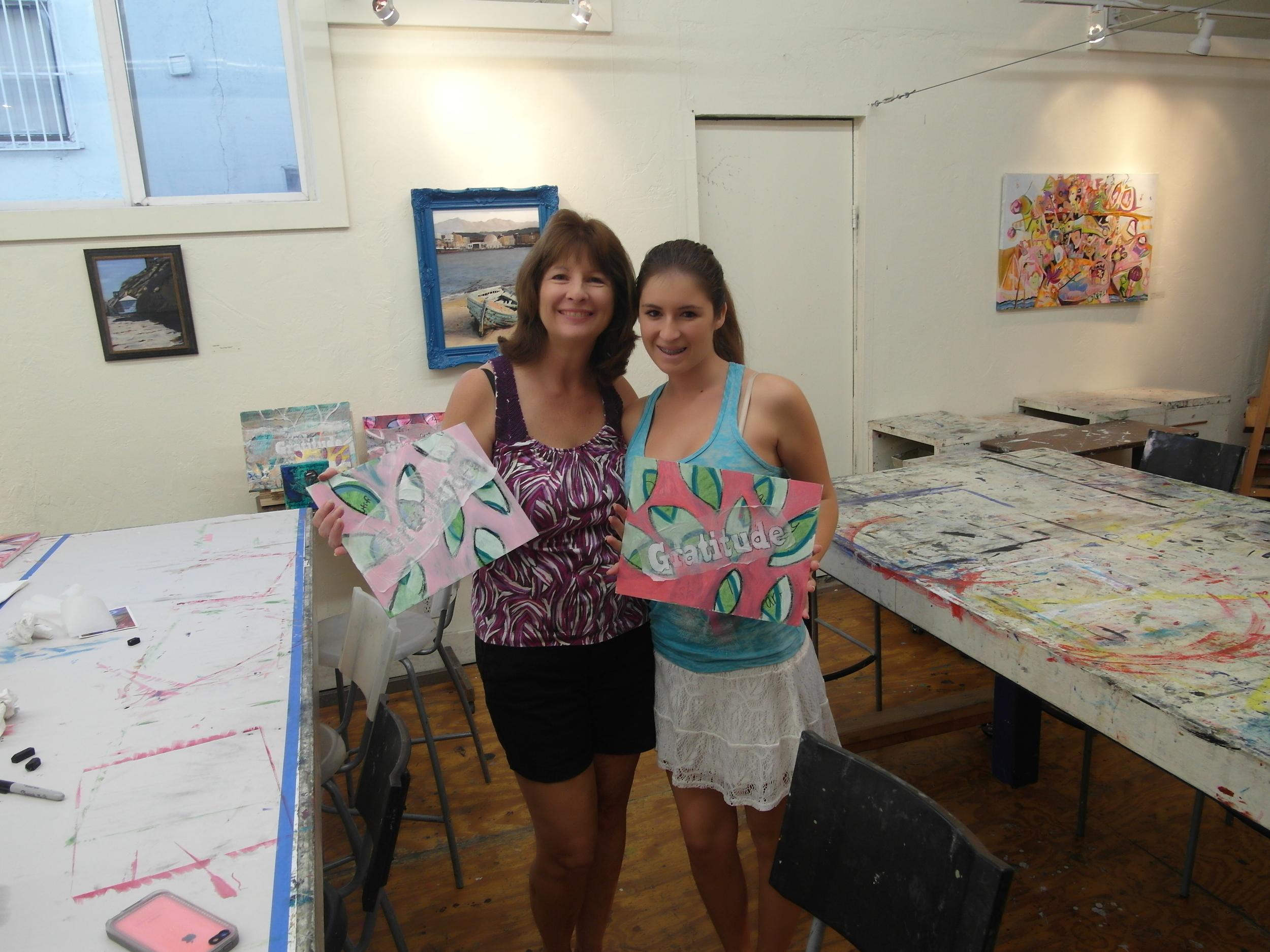 breast cancer brunette mom and daughter.JPG