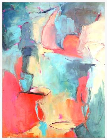 St orytellers ,  Alix Evendorff,  oil on canvas, 2004