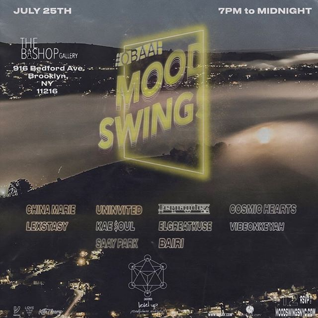 #MoodSwings July 25 @bishoponbedford pull up for the next #OBAAH 🌊