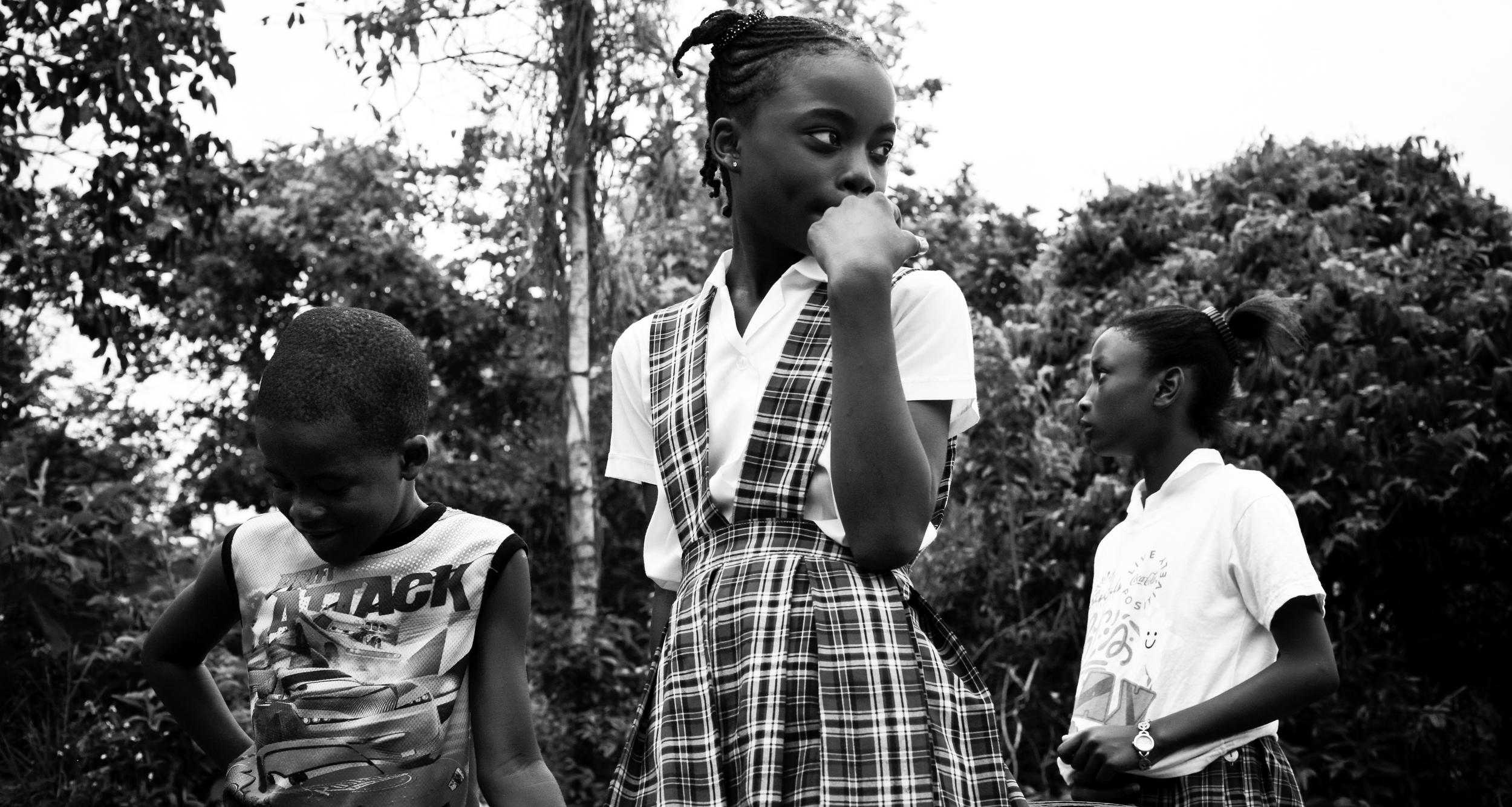 Untitled (School Kids) Barrett Town, Jamaica 2013