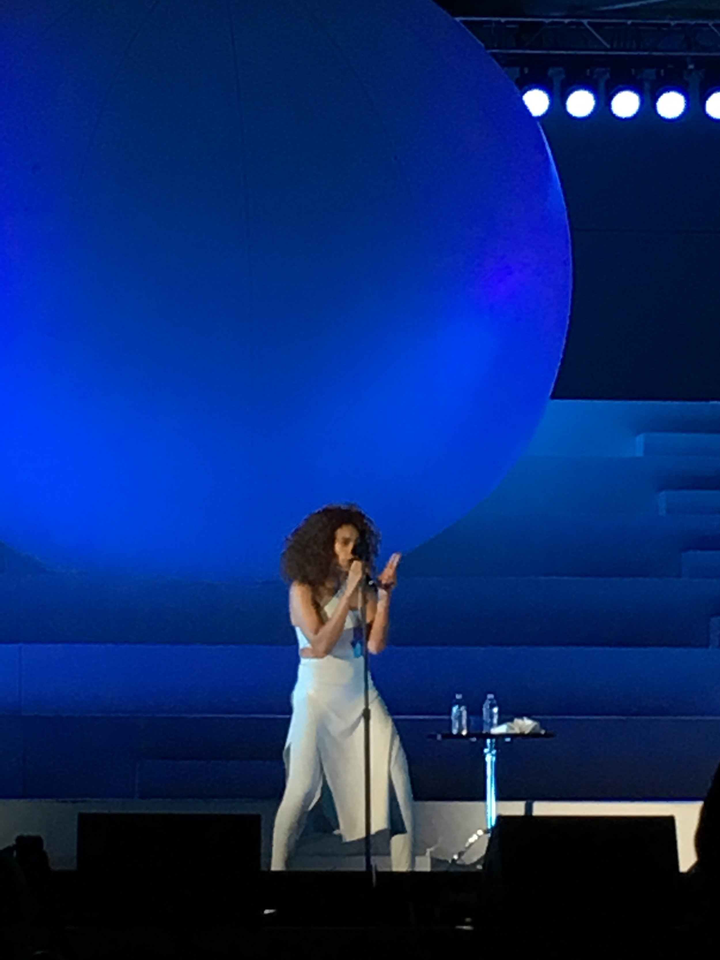 Solange at the Hollywood Bowl