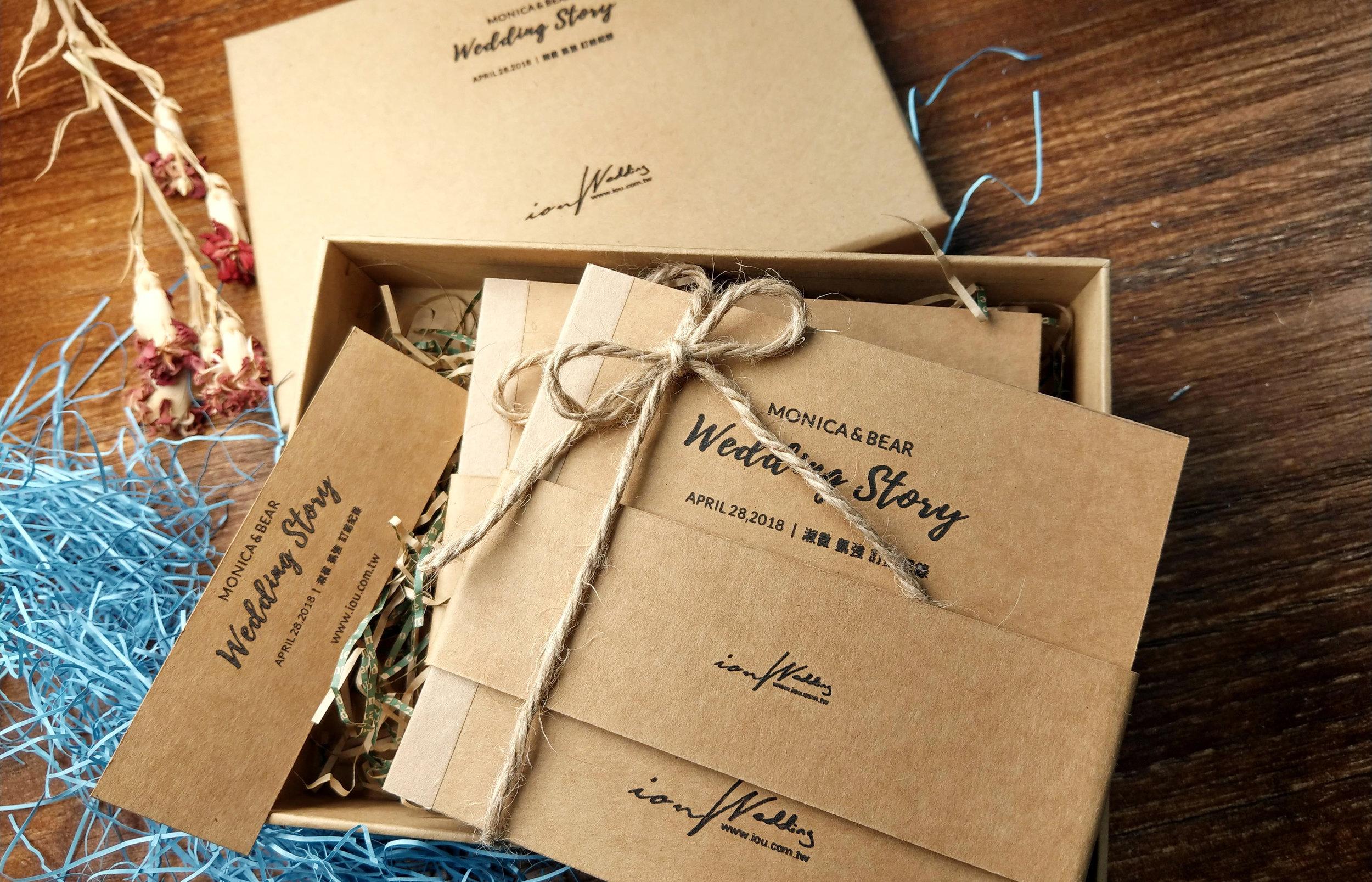 成品概觀 - 透過這裡了解到您的婚禮紀錄成品內容