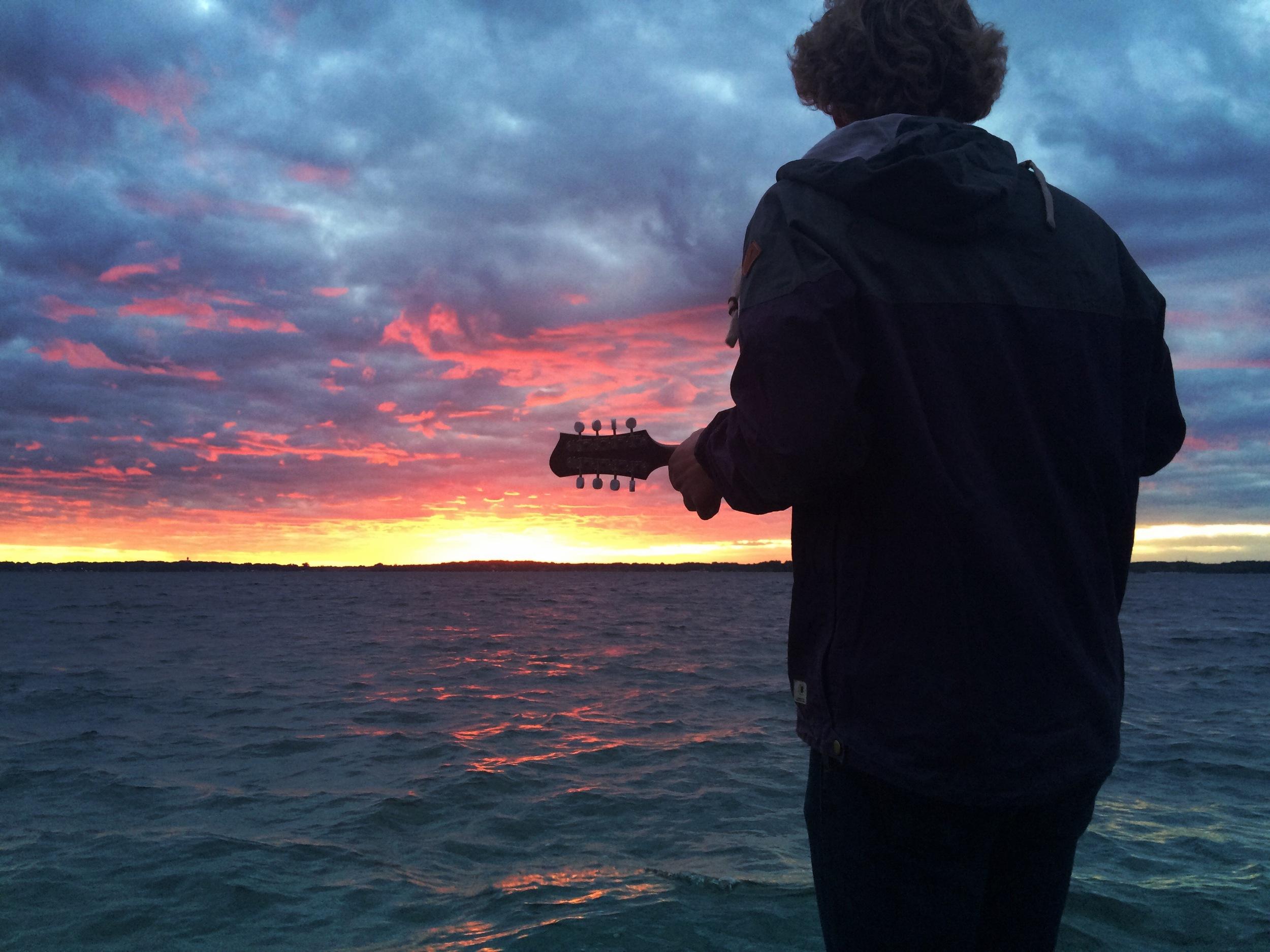 on the shores of Lake Minnetonka, Minnesota