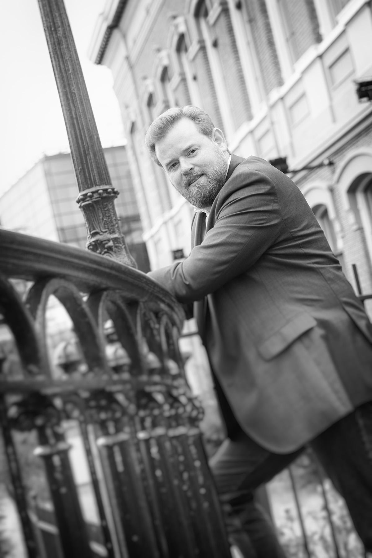 Portretfoto van Alexander Bloemers, CEO bij Imbema Group