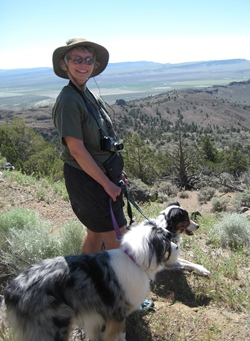 2009 - CAROL HASENBERG, TRINITY, AND NICK THE CRAZY DOG