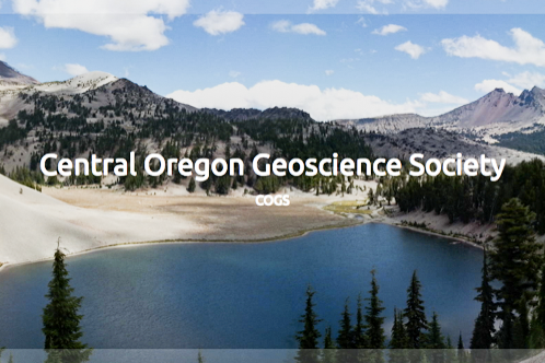 Central Oregon Geoscience Society - www.cogeosoc.org
