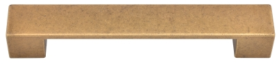 Brushed brass bar handle